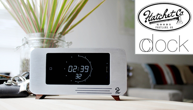 Kickstarter Project: c/dock – Una Clock/Docking Station in stile retro per iPhone 4