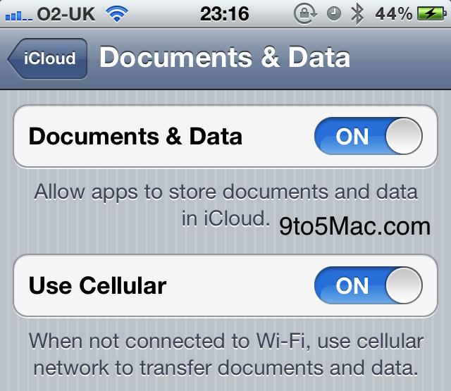 iCloud si prepara per il debutto con iOS 5 beta 4: Arriva la sincronizzazione dei Documenti e dei dati