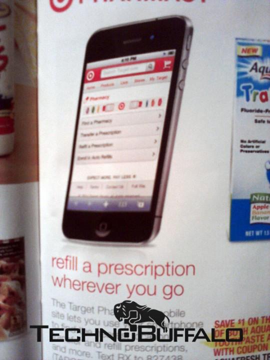 Nuovo materiale pubblicitario di Target rivela l'aspetto di iPhone 5?