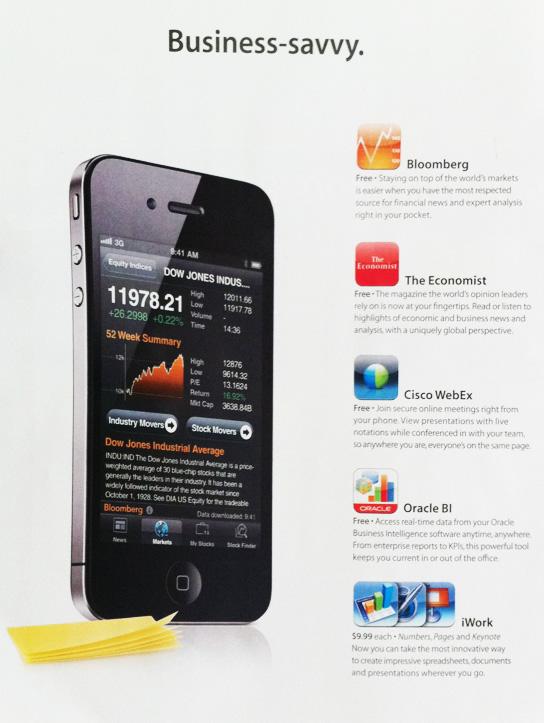 iPhone 4: un telefono sempre più Business-oriented?