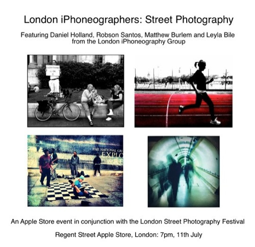 London iPhoneography, quattro street photographer in mostra all'Apple Store di Regent Street