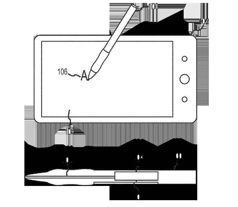 Un brevetto Apple mostra un nuovo concept di pennino in grado di interagire e comunicare dati ai dispositivi touch!