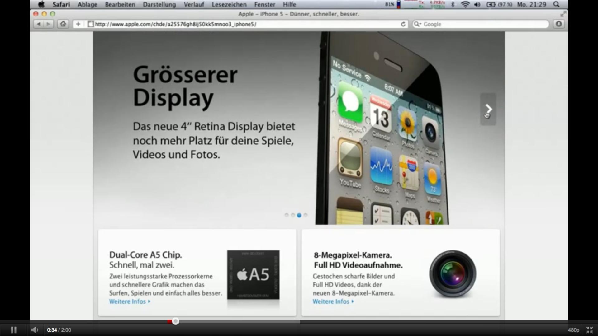 L'iPhone 5 viene falsificato anche nei video!