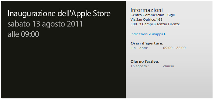 iSpazio vi mostra le foto dell'Apple Store di Firenze pronto per l'apertura! [AGGIORNATO X2]
