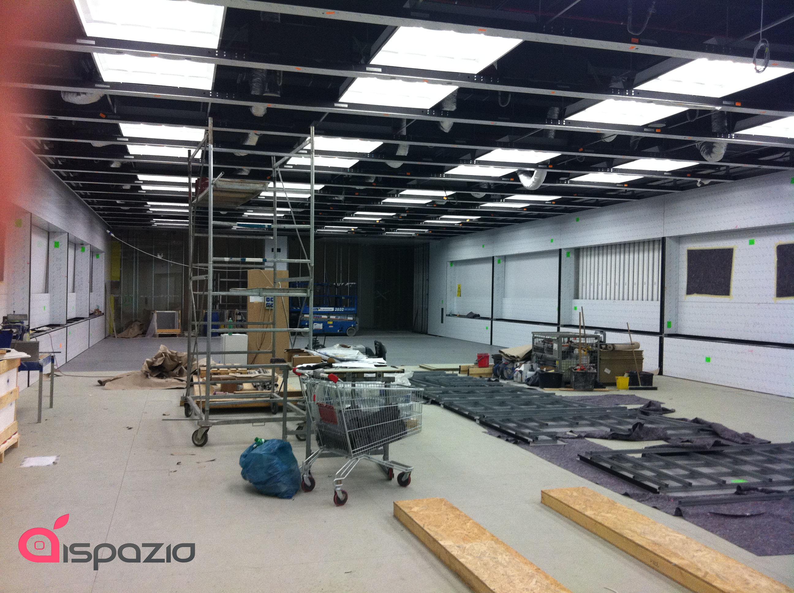 Ispazio vi mostra nuove foto inedite del nuovo apple store for Mobilia store marcianise