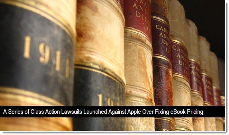 La grande cospirazione degli ebook e la class action contro Apple