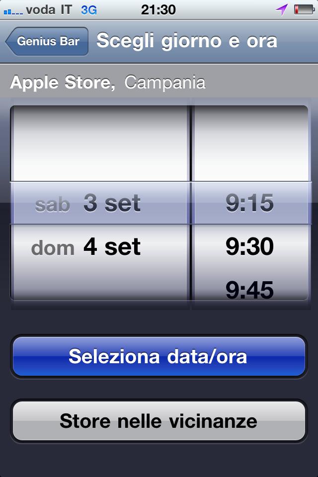 L 39 apple store di marcianise aprir sabato 3 settembre for Apple store campania