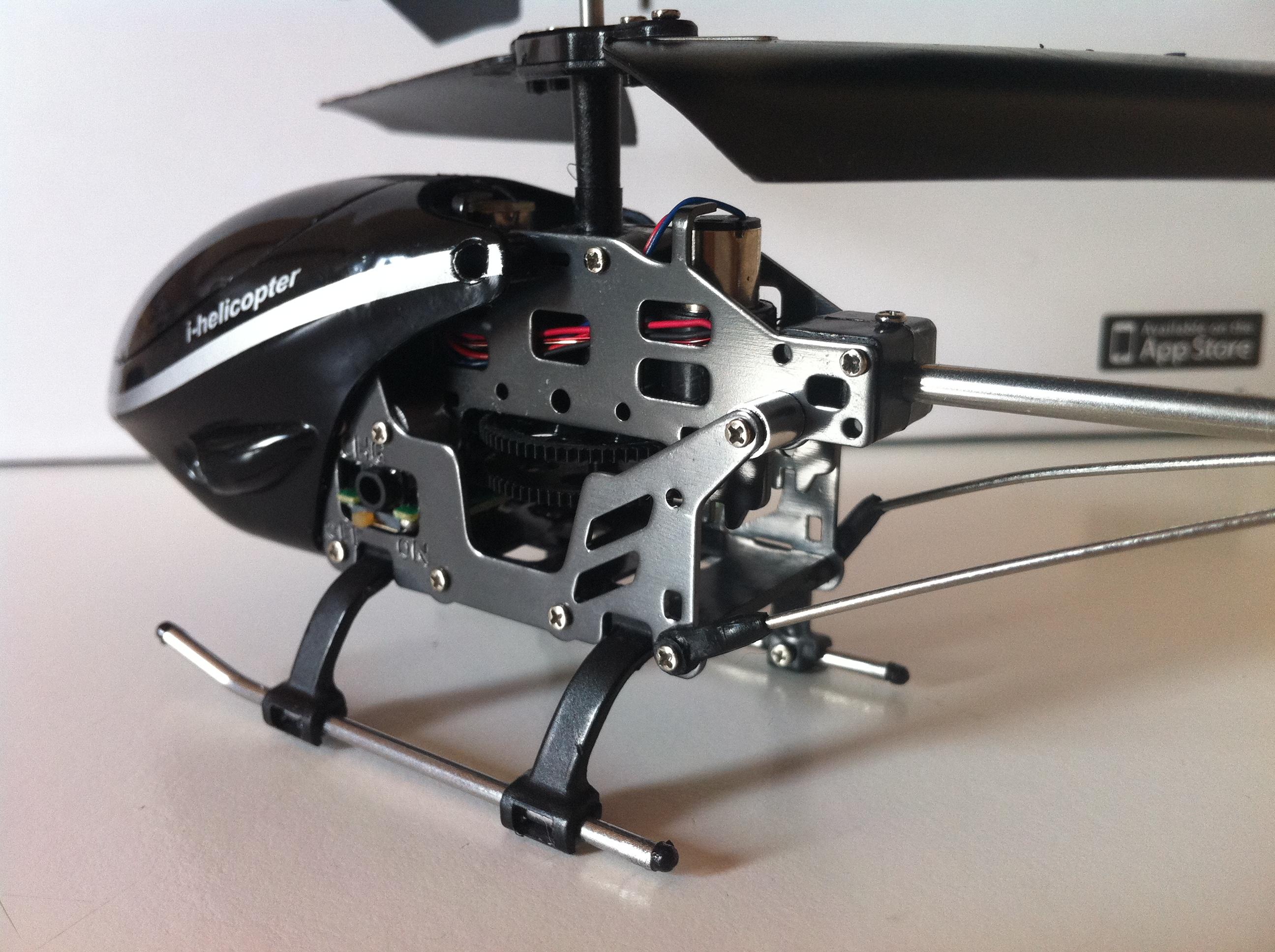 Elicottero Telecomandato Con Telecamera : Ispazio prova ihelicopter il piccolo elicottero