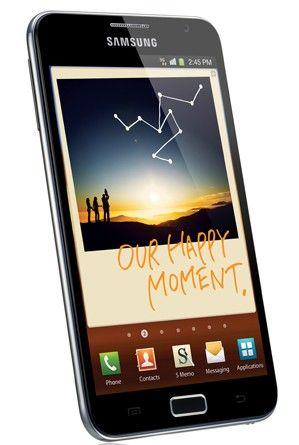 "IFA: Samsung Galaxy Note con display Super AMOLED HD da 5.3"""