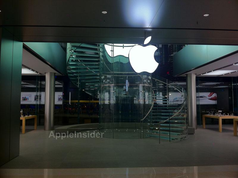 Ecco le prime immagini dell'Apple Store di Hong Kong, il più costoso della storia Apple