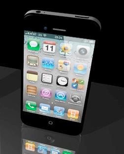 iPhone 4S mostrato in un concept