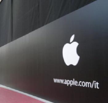 Apple Store di Catania: spunta la Mela, apertura vicina
