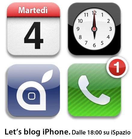 Let's Blog iPhone: l'evento Apple si segue su iSpazio! Appuntamento per il 4 Ottobre dalle ore 18.00