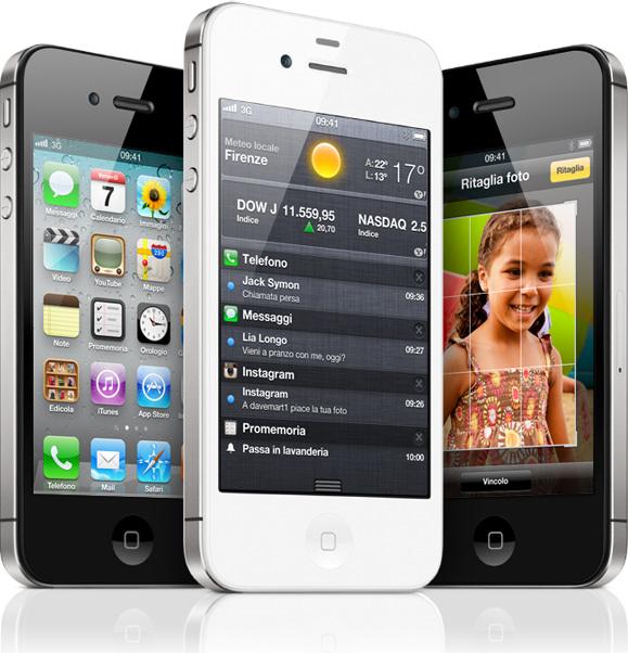 Record di vendite per iPhone 4S, già Sold Out nel mercato USA