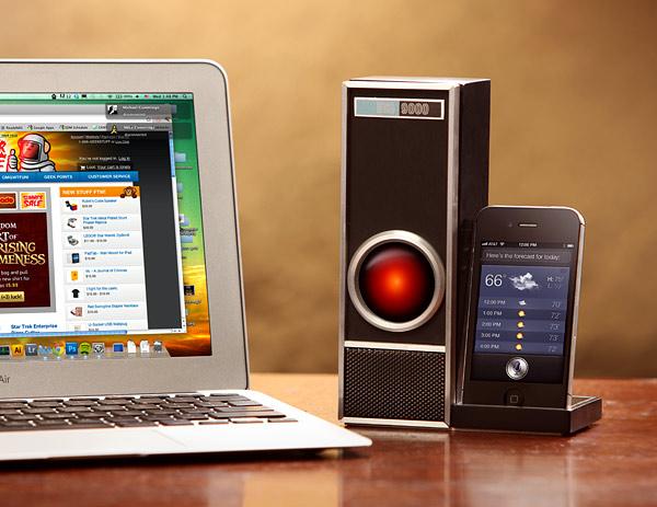 Interagire con Siri a distanza: Iris 9000 trasforma l'iPhone 4S in HAL 9000 [Video]