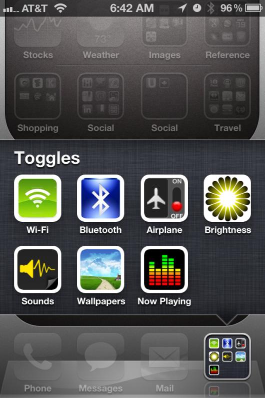 Con iOS 5 beta 1 Apple impedisce di creare scorciatoie di sistema sulla SpringBoard