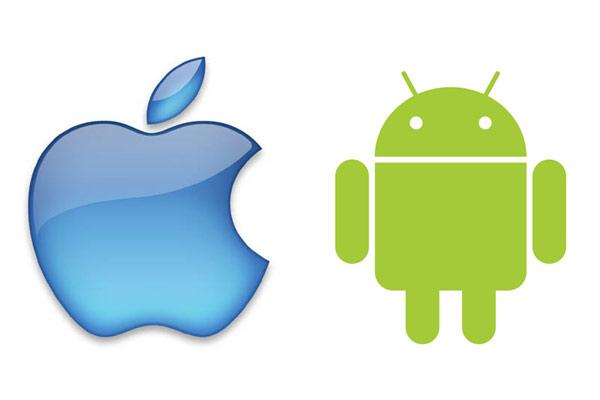 Apple e Android loghi