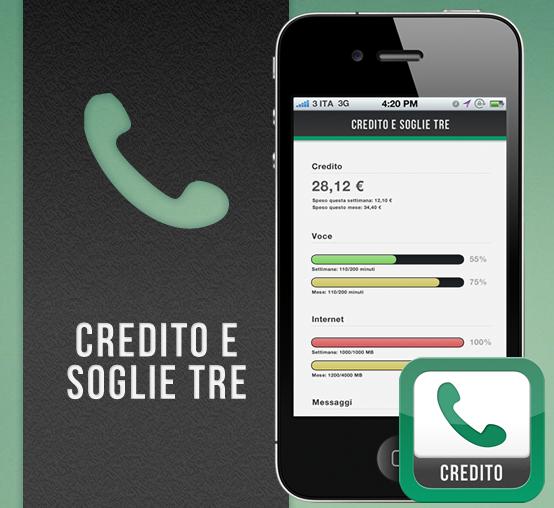 Credito e Soglie Tre: il modo più veloce per consultare credito e soglie Tre sul tuo iPhone | Recensione iSpazio