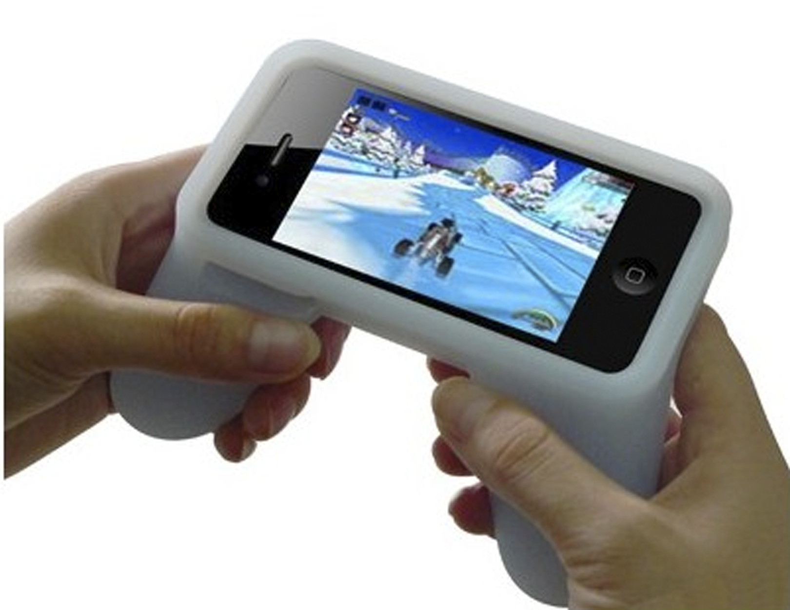 Gamepad in silicone per iPhone 4 e iPhone 4S by AppleGlare | iSpazio Product Review
