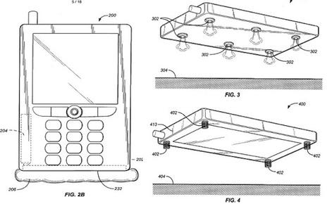 Apple brevetta degli airbag che proteggeranno i futuri iPhone
