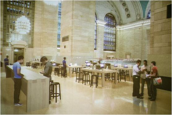 L'apertura dell'Apple Store di Grand Central Station ormai è vicina
