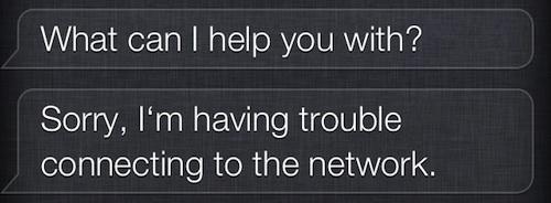 Problemi per Siri: il nuovo assistente vocale non riesce a connettersi al Network e non soddisfa le nostre richieste