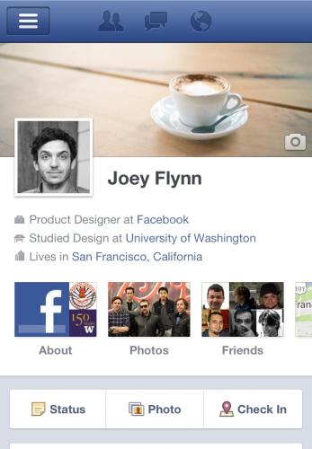 La nuova Timeline di Facebook arriva anche sulla web App per Safari