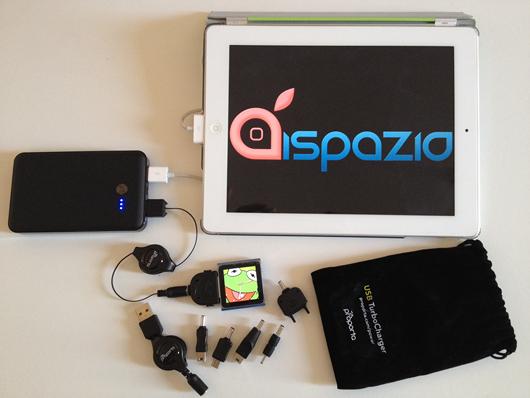 Proporta Turbocharger 7000: un fantastico caricatore portatile per iPhone, iPod, iPad ed altri dispositivi | iSpazio Product Review