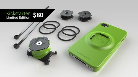 Quad Lock, un case innovativo per iPhone fa la sua comparsa su Kickstarter