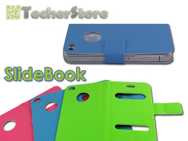 SlideBook, l'alternativa alla classica custodia per iPhone 4 e 4S firmata TecherStore