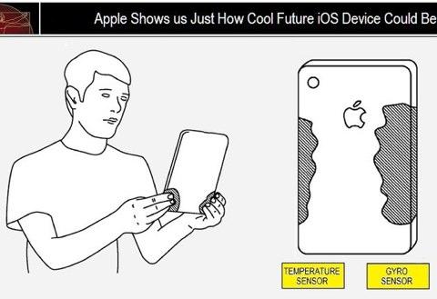 Apple brevetta i sensori di temperatura per iDevice