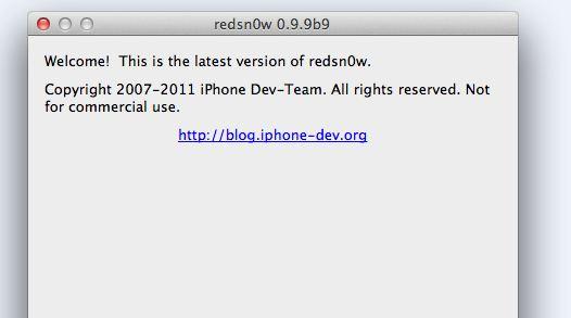 Il Dev-Team rilascia una nuova versione di RedSn0w con alcune novità e migliorando il supporto ad iOS 5.0.1
