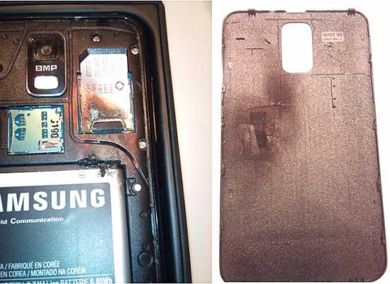 Samsung Galaxy S2 esplode: non è solo iPhone ad avere problemi di surriscaldamento