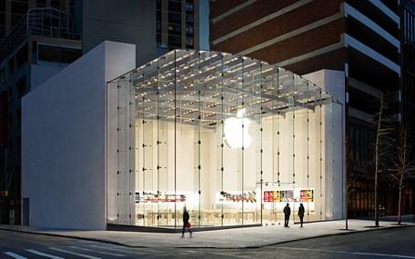 Il futuro Apple Store in Texas sarà realizzato con il tetto in vetro