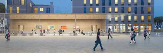 I prossimi Apple Retail Store saranno quasi interamente trasparenti