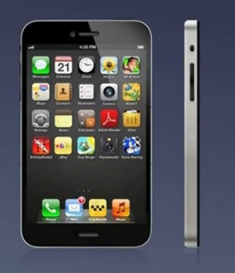 Nuovo concept per iPhone 5: display da 4 pollici e nuovi tasti Home