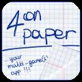 Four on Paper: 4 divertenti passatempi racchiusi in un'unica App