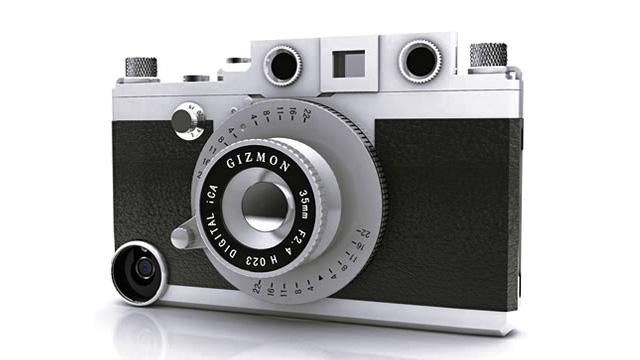 iPhone 4/4S più simili ad una fotocamera Retrò con il nuovo case iCa dal prezzo non proprio contenuto