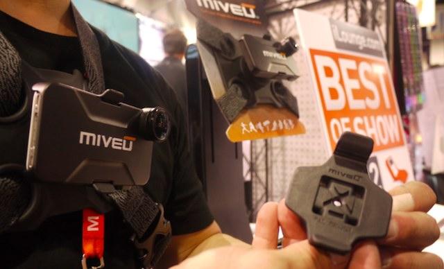 MiVeu: presentato al CES 2012 il sistema per girare video avventurosi con iPhone 4/4S [VIDEO]