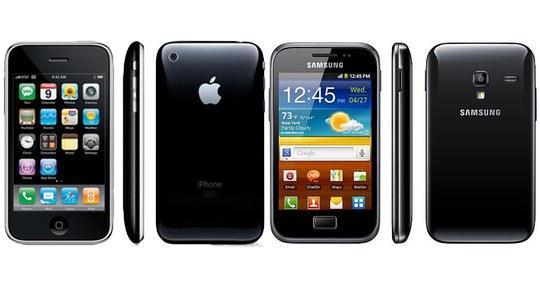 Samsung senza pudore: adesso copia anche il design dell'iPhone 3G!
