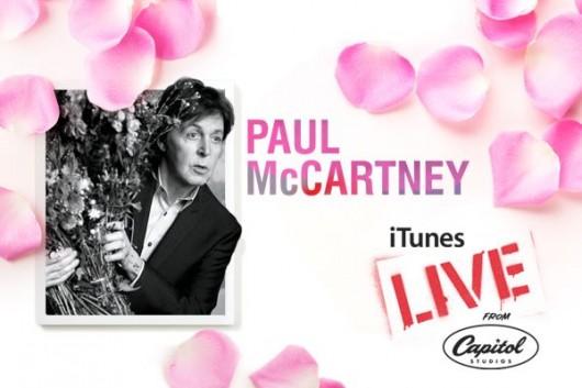 """Disponibile su iTunes la performance di  """"Kisses on the Bottom live"""" di Paul McCartney"""