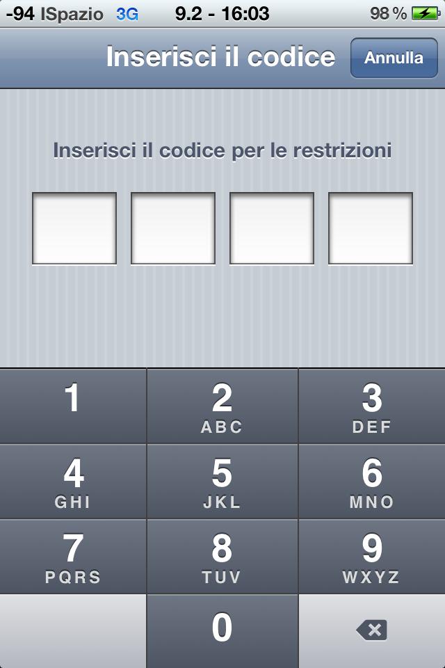 Ecco come usare le restrizioni su iOS 5 | Guida