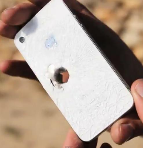 Grazie al suo iPhone un imprenditore di Rotterdam evita di essere colpito da un proiettile