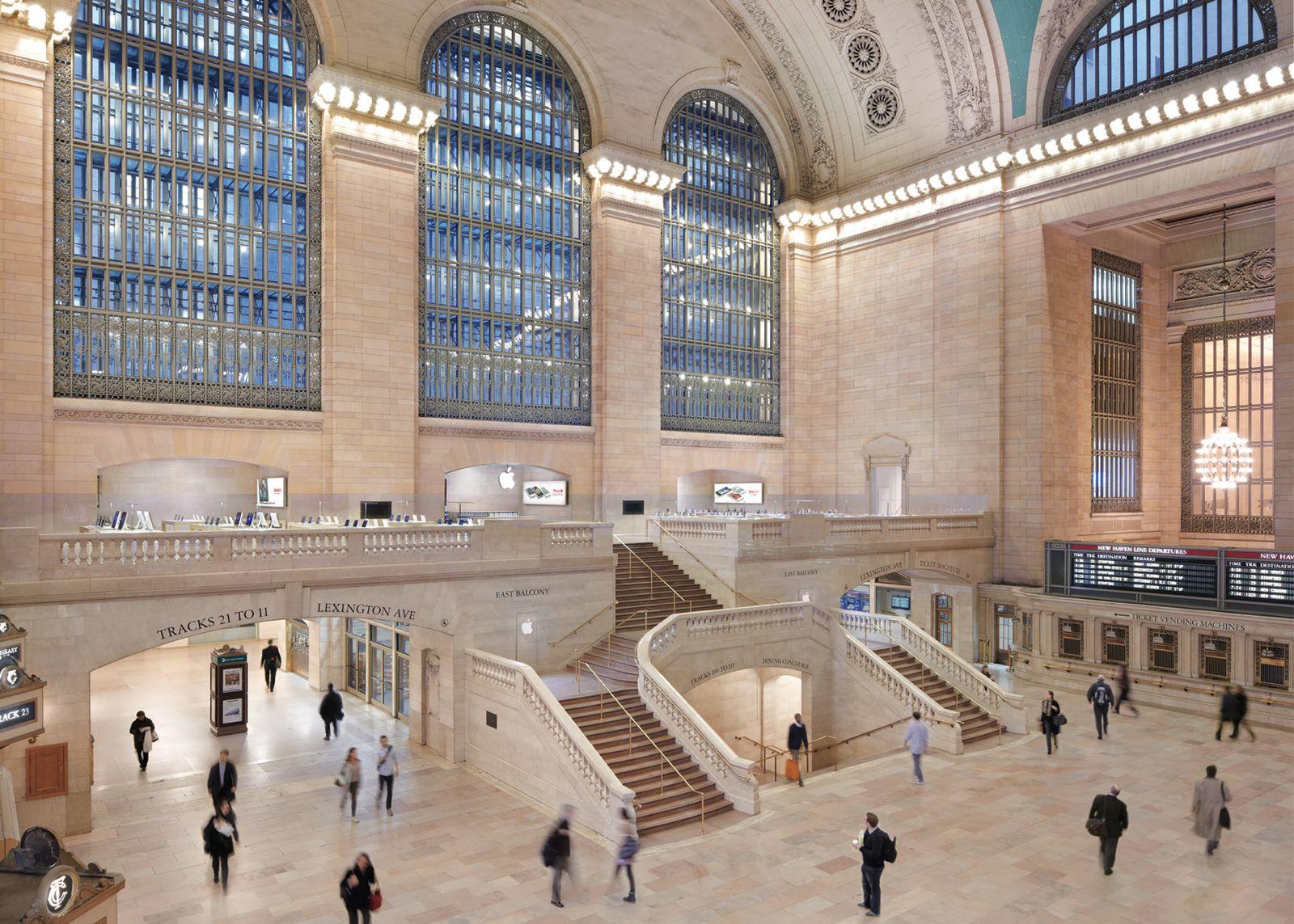 L'Apple Store del Grand Central Terminal di NY ha portato ad un aumento di vendite generalizzato