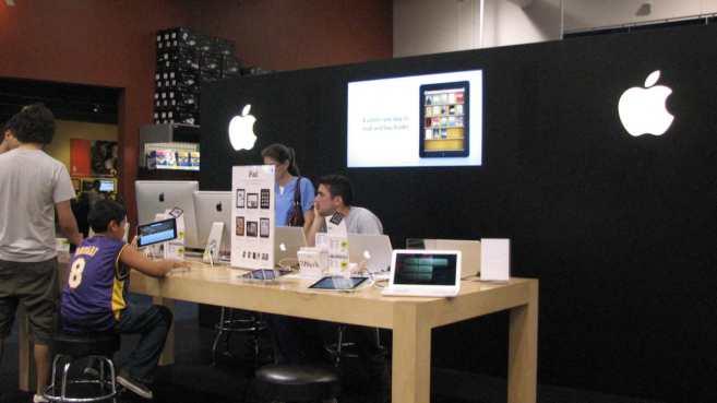 Apple diffidente nell'aprire nuovi store all'interno dei negozi Sam's Club