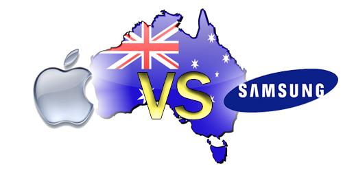 Apple espande la sua causa contro Samsung in Australia