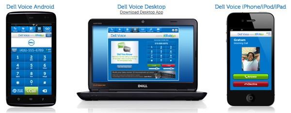 Dell rilascia Voice: un'applicazione VoIP, per ora disponibile solo in Canada
