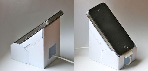 Arriva Eco-iP4: il dock per iPhone fai-da-te