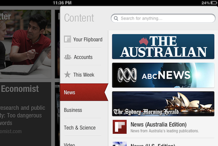 Flipboard lancia guide specifiche e localizzate in Australia, Irlanda, Canada e Regno Unito
