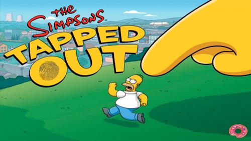 Il gioco The Simpson Tap Out è stato rilasciato oggi nell'AppStore canadese